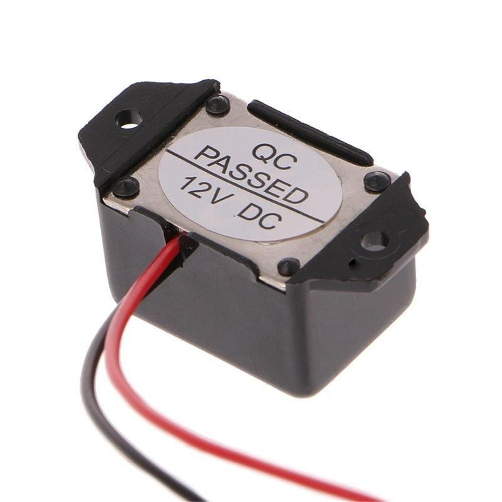 ZZALLL MINGJIE DC 12V 85dB Mini Sonnerie dalarme /électronique /à tonalit/é constante