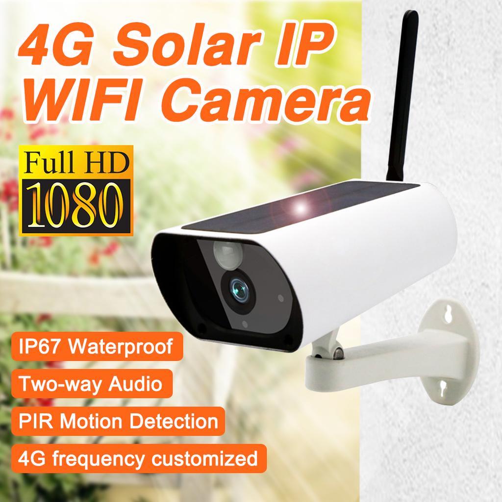 1080P Беспроводная GSM 4G SIM-карта солнечной энергии наружной безопасности CCTV IP camera Главная Низкая мощность – купить по низким ценам в интернет-магазине Joom