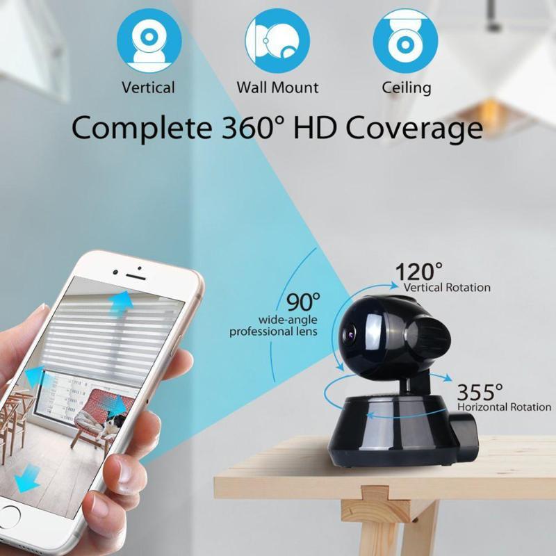 ZS-GX5 Wireless WiFi 720P HD 1.3MP Two-Way Audio IR Night Vision Pan Tilt Camera