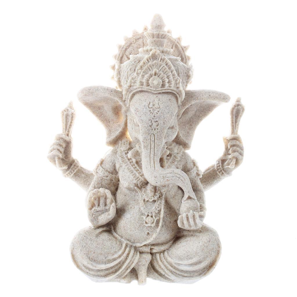Schnitzen Holz Mini Handwerk Elefant Statue Ornamente Home Office