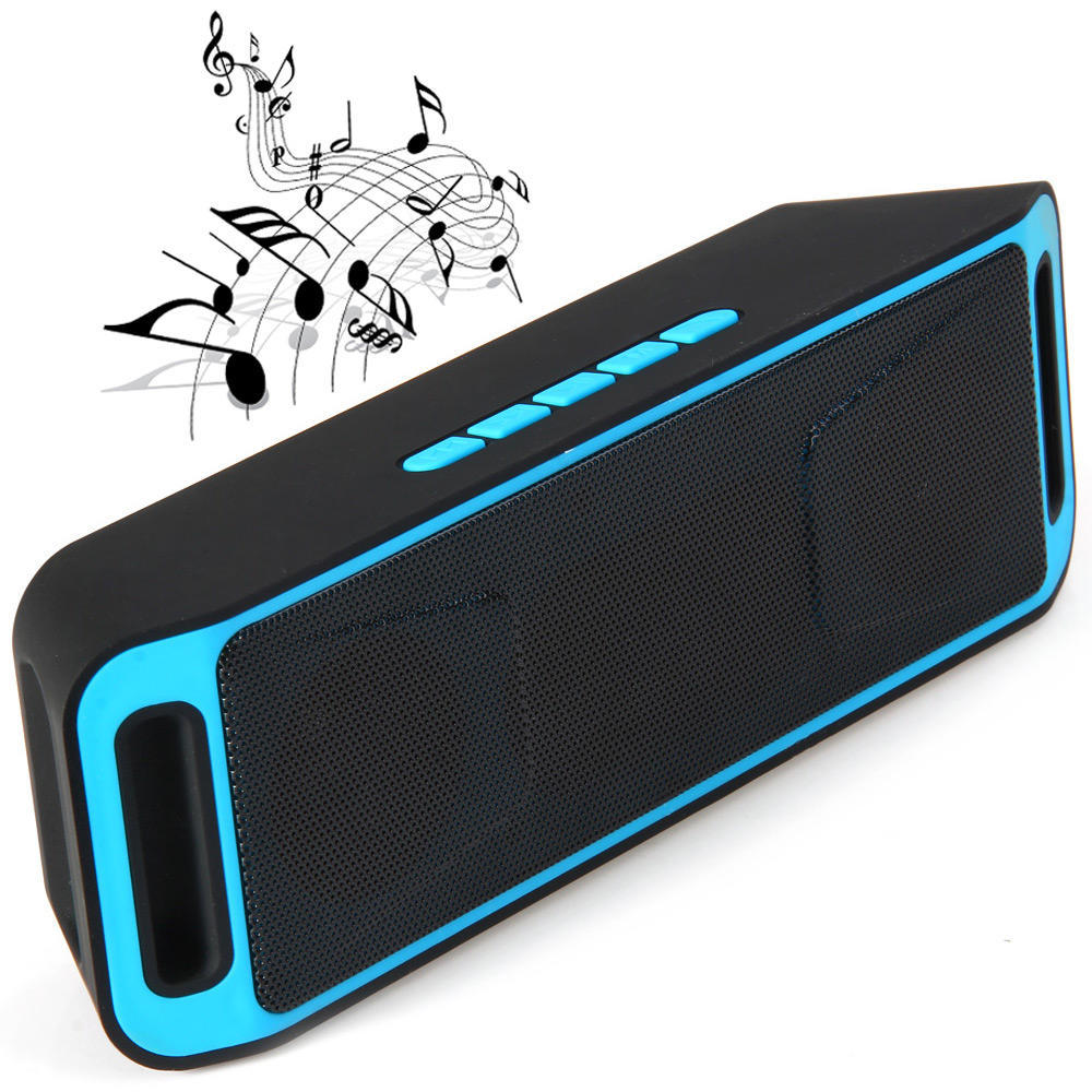 K812 Stylish Bluetooth Wireless 3.5mm Audio Handsfree Stereo Speaker with Mic
