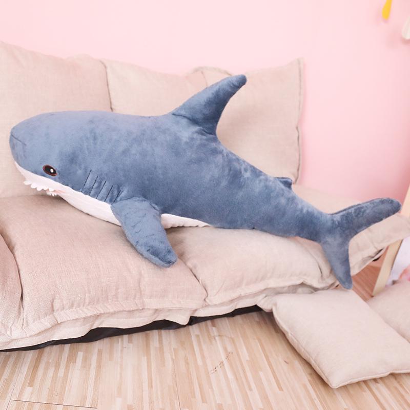 Big Shark Soft Toy Xmas Gift Stuffed Cushion Large Animal Plush Toys Doll Pillow