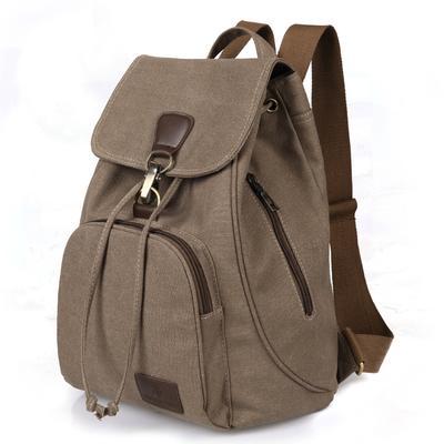 9e9540ac4814 Женщины холст Bagpack Softback твердых сумка мягкая ручка Mochilas Mujer  рюкзак школа моды сумка