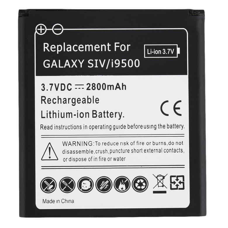 Battery replacement ACEHE 2800mah standard li-ion battery black DH