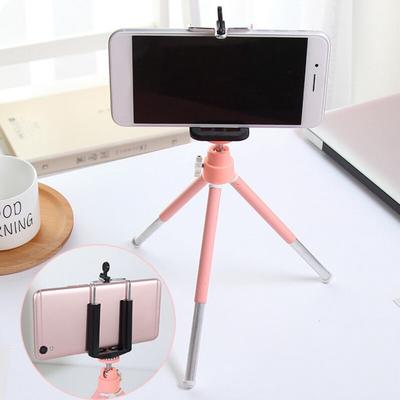 Compact Lightweight Outdoor Desktop Tripod Multifunctional Lazy Floor Support Stand 110CM Silver