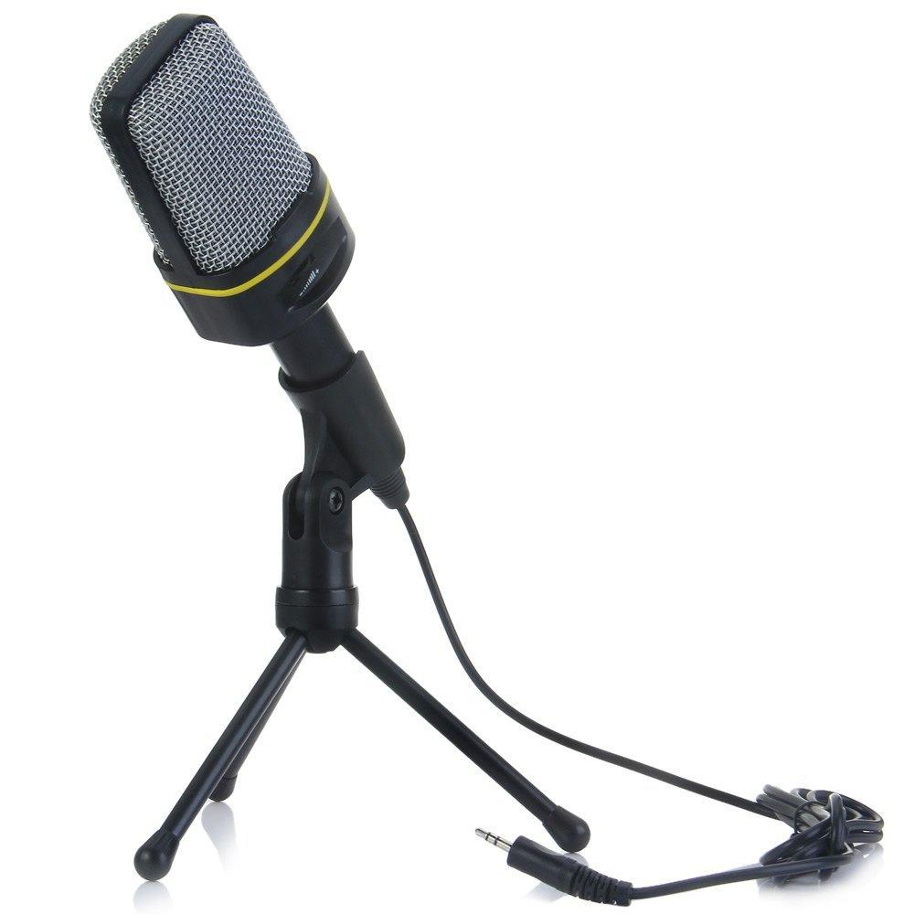 Unidirectional Dynamic Condenser Sound Microphone With Stand Holder Mic For Recording Msn Skype Buy At A Low Prices On Joom E Commerce Platform