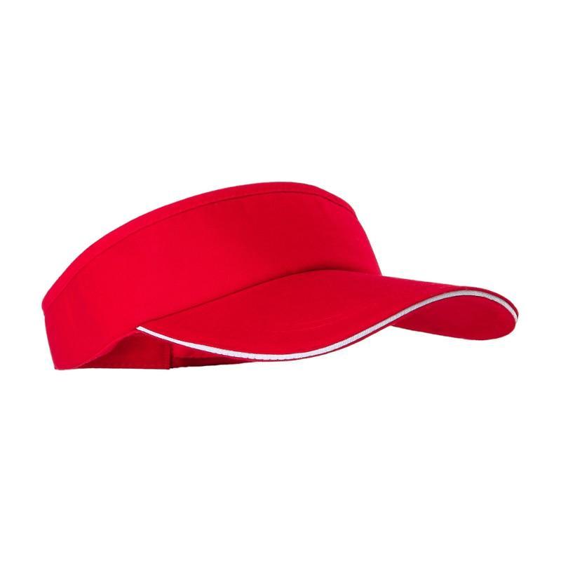 Ladies Summer Sun Visor Hat Wide Brimmed Cotton Polyester Modern Top Quality Cap