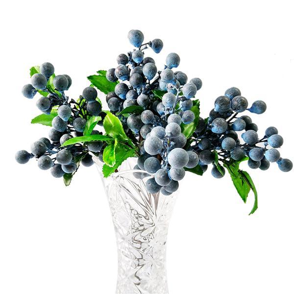 Искусственные реалистичные голубика поддельные мини-ягоды моделирования декоративные плодовых растений (синий) – купить по низким ценам в интернет-магазине Joom