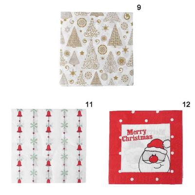 b404a91c02b38 Tissue Style Party Paper Decoration Home Christmas Printing For Napkin  33x33cm 20pcs Small Idea