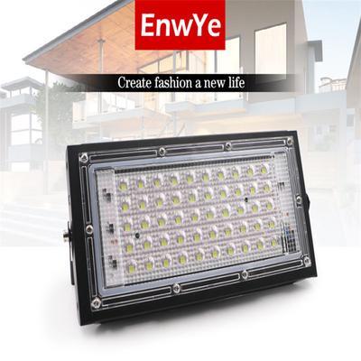 6500K LED Flood Light Outdoor 50W Waterproof Security Spotlight Garden Lamp 110V 220V