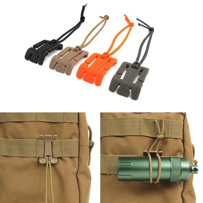 Tactical Molle Hanging Strap Webbing Buckle Clip Key Bottle Hook Belt Tool BR