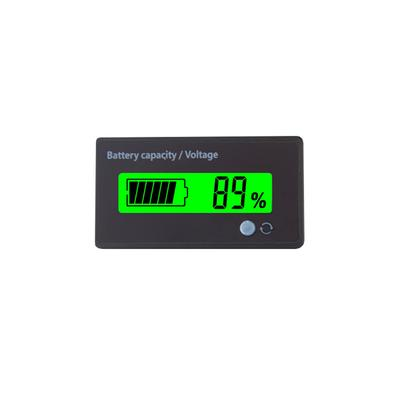 12V Lead-acid Batteries Battery Indicator Capacity LCD Tester Meter W//Buckle