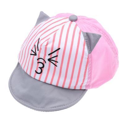 f7e6913a Bebé tapa bebé Baseball Cap sombrero gato sol sombrero de la historieta  para niños infantil Toddler