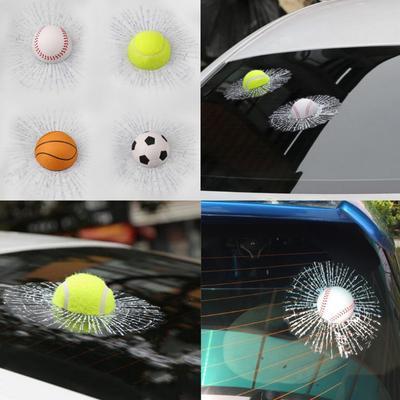 Heisser Verkauf 3d Auto Aufkleber Lustige Auto Auto Styling Ball