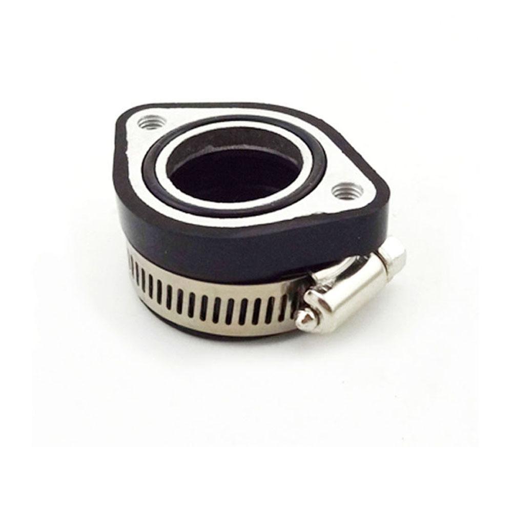 Mikuni VM24 Carburetor Flange Manifold Intake Adapter Rubber Pipe ATV Dirt Bike