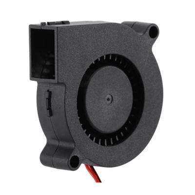 2 PCS Mini Cooling Fan 50mmx50mmx15mm 3D Printer Parts 5015 Radial Turbo Blower Fan DC 12V Cooling Fan for 3D Printer