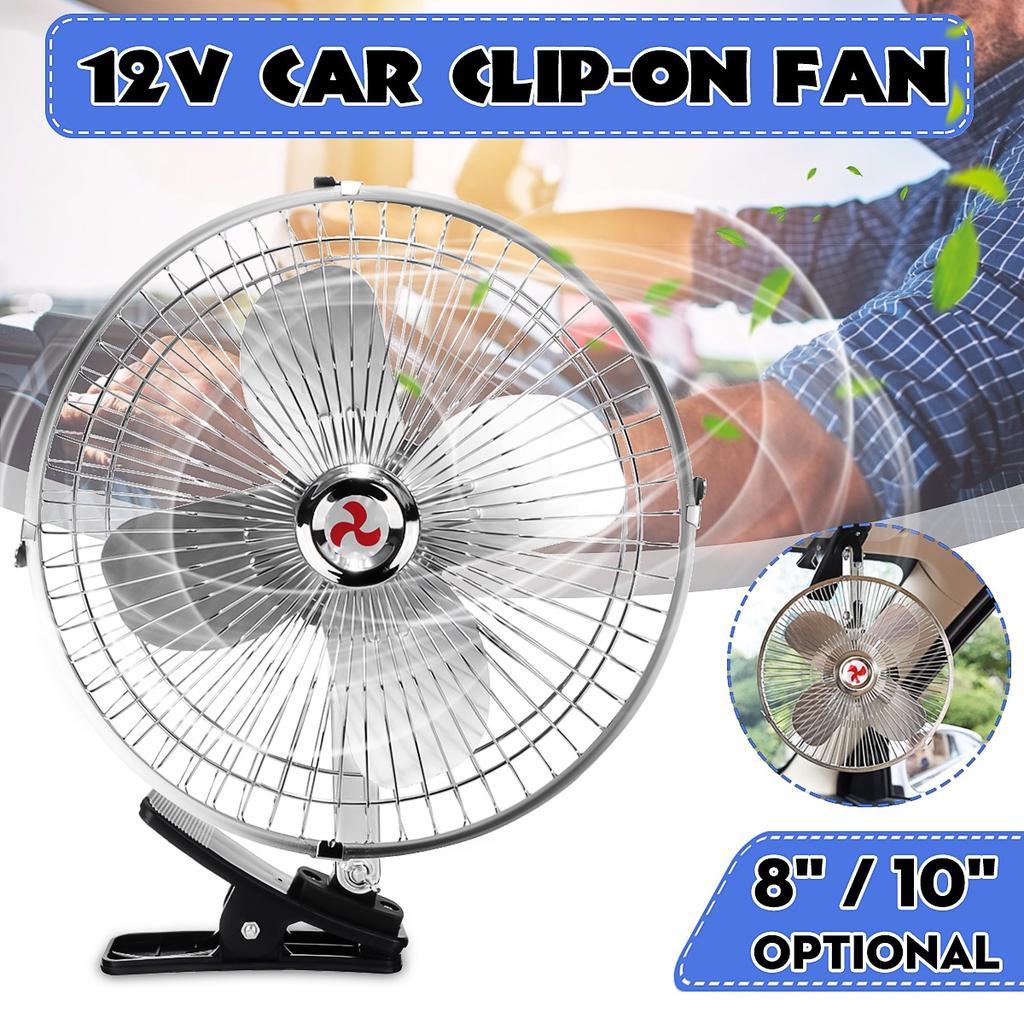 Auto Ventilator Mini Klimaanlage Luftk/ühler Mit L/üfter 12 V Geschwindigkeit Einstellbar K/ühler Mit Zigarettenanz/ünder Adapter F/ür Auto Fahrzeug Lkw