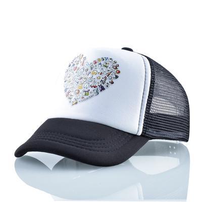Kids Boys Girls Arale Baseball Hat Snapback Peaked Cap Summer Beach Mesh Sun Hat