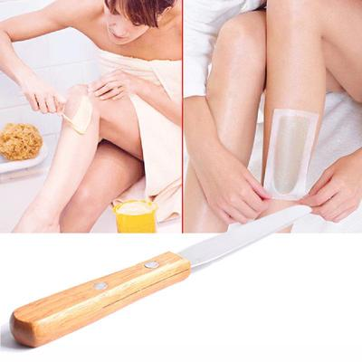Stainless Steel Metal Wax Adjustment Stick Hair Removal Wax Stick Mask Stick With Advanced Wooden Han Buy At A Low Prices On Joom E Commerce Platform
