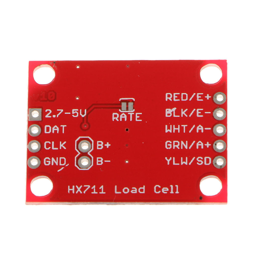 HX711 High Precision Load Cell Amplifier Breakout Board 24bit A//D Converter