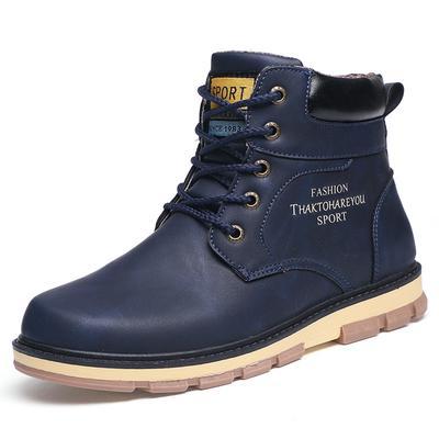 44d0c6641827 Hommes chaussures bottes d escalade militaire Martin neige bottes Western