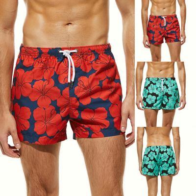 , Funic Mens Shorts Swim Summer Trunks Quick Dry Beach Surfing Running Swimming Watershort