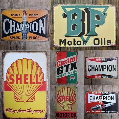 Vintage Look Metal Large Plaque Sign 30x20cm The Worlds Best Builder