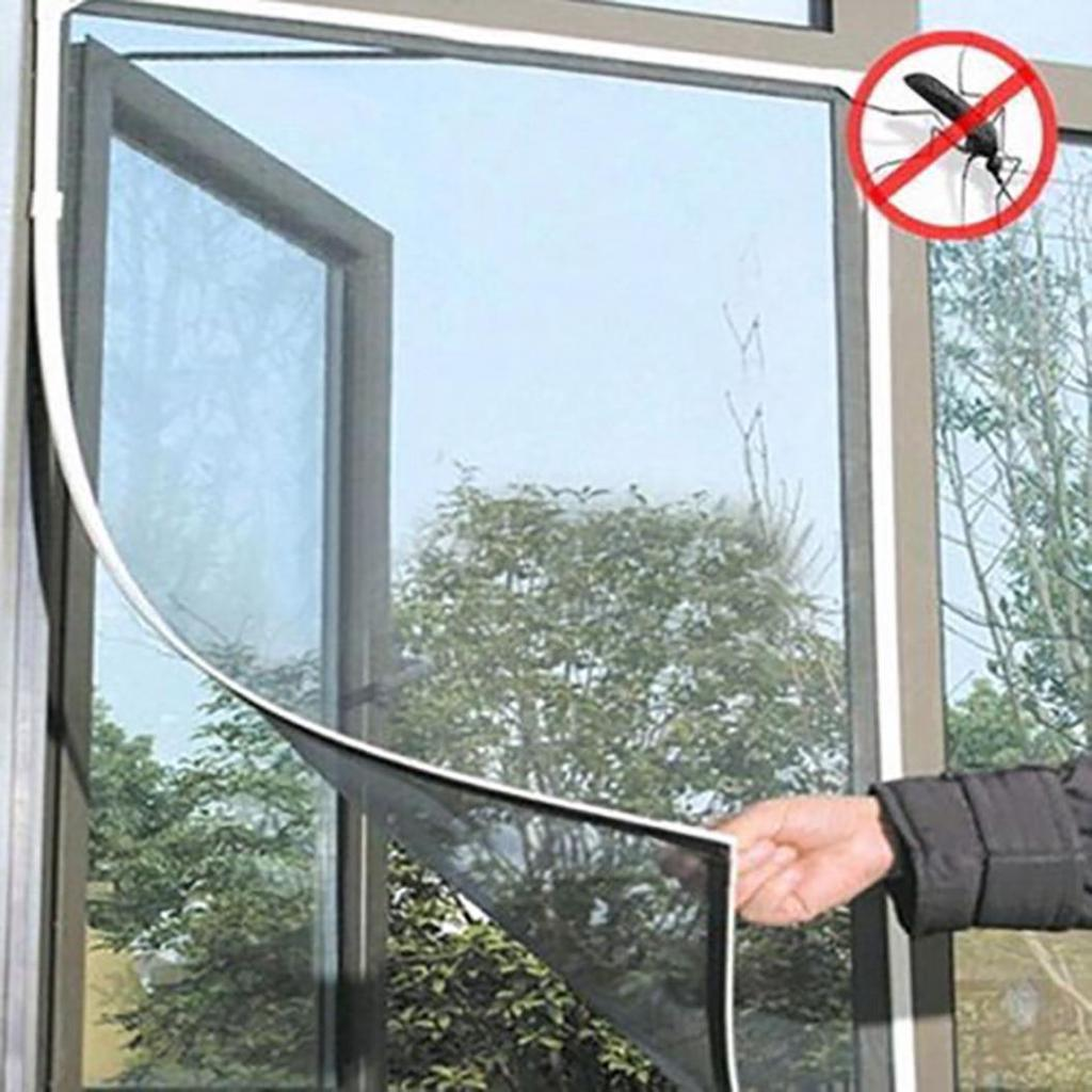 INSECT SCREEN Window Mesh Net Fly Bug Moth Door Tape DIY FlyScreen Small Holes