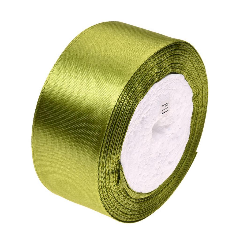 50m Reel x 3mm Double sided satin Craft Ribbon Hair Bow Decoration cards