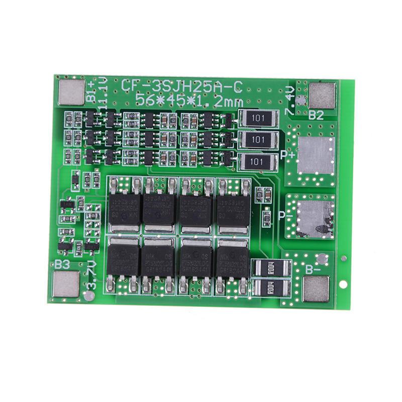1pcs 3 s 11.1V 12.6V 25A 18650 Li-Ion Lithium Batterie Schutz ...