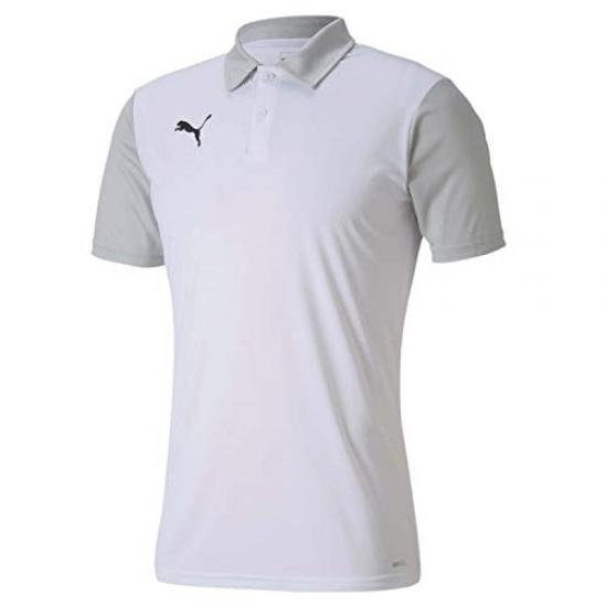 Puma Teamgoal 23 Sideline Polo T-shirt Homme Puma White / Gray Violet Fr: Xl (manufacturer Size: Xl) 656577