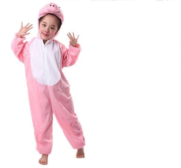 儿童节服装服装恐龙猪动物派对服