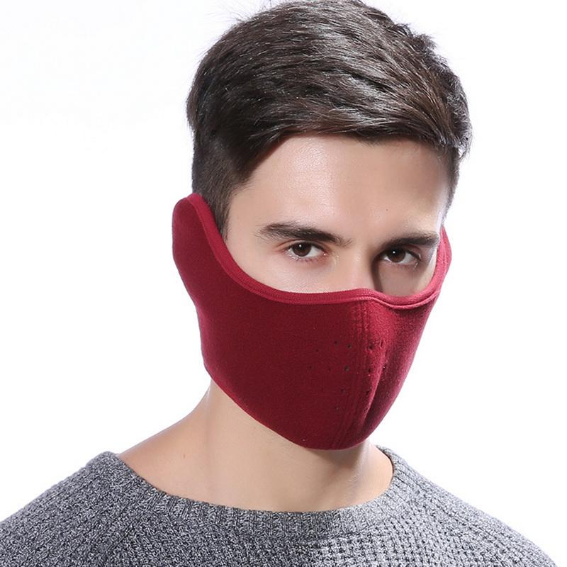1Pc Cartoon cotton black mouth half face anti-fog anti-dust fashion masks  MC