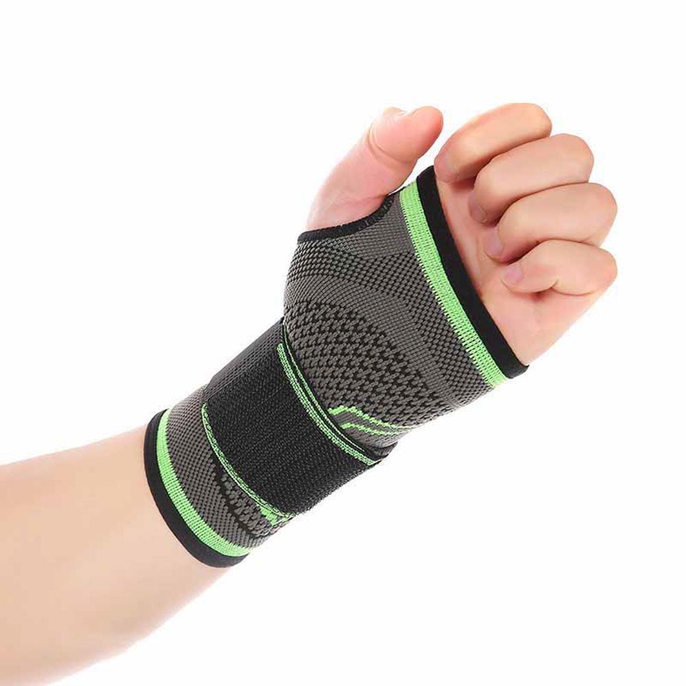 Men Women Sports Gym Support Wrist Wrap Guard Brace Bandage Strap Wristband