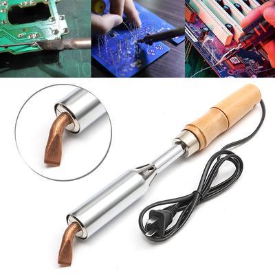 200W Soldering Iron Heavy Duty Chisel Point 200 Watt Craft Tools AC 220V NEW