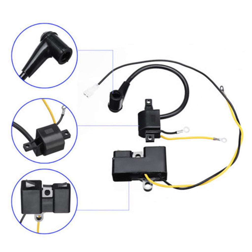 2x OEM Replacement Ignition Coil Module for Husqvarna 61 66 162 266 Chainsaw