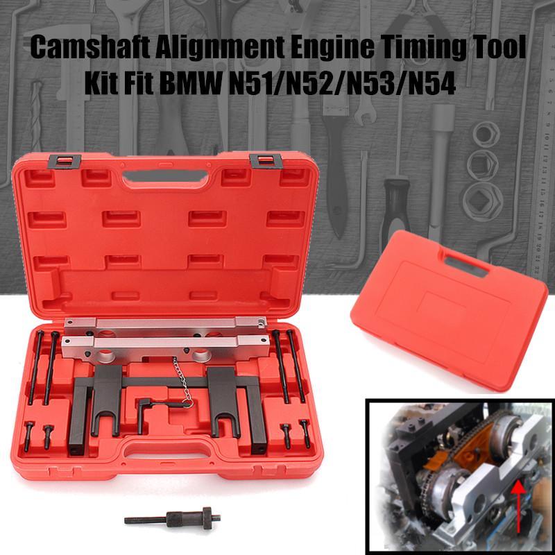 Camshaft Alignment Engine Timing Locking Tool Set Kit For BMW  N51/N52/N53/N54