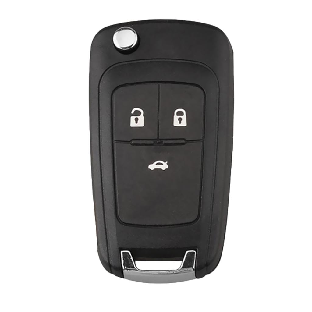 MagiDeal 4 Button Uncut Remote Key Keyless Entry 433MHZ