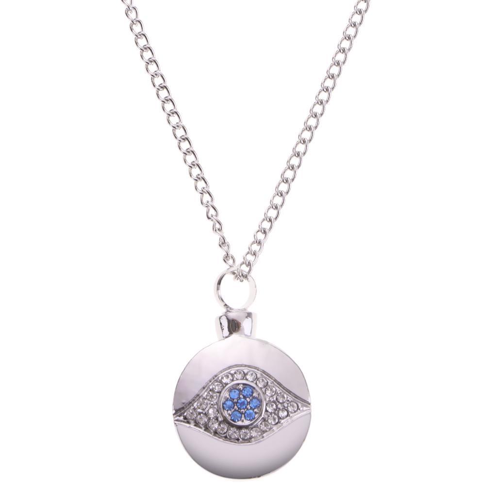 Women/'s Openable Tube Bottle Locket Pendant Necklace Ash Urn Cremation Keepsake
