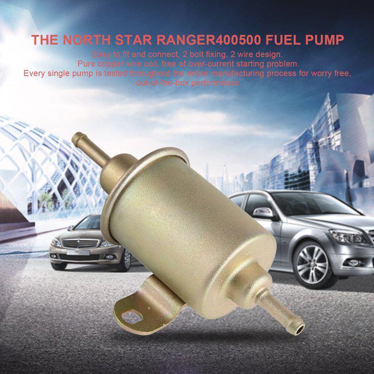 Blueskysea 12V elektrische Pumpe Unterdruck Benzinpumpe für ATV für ...