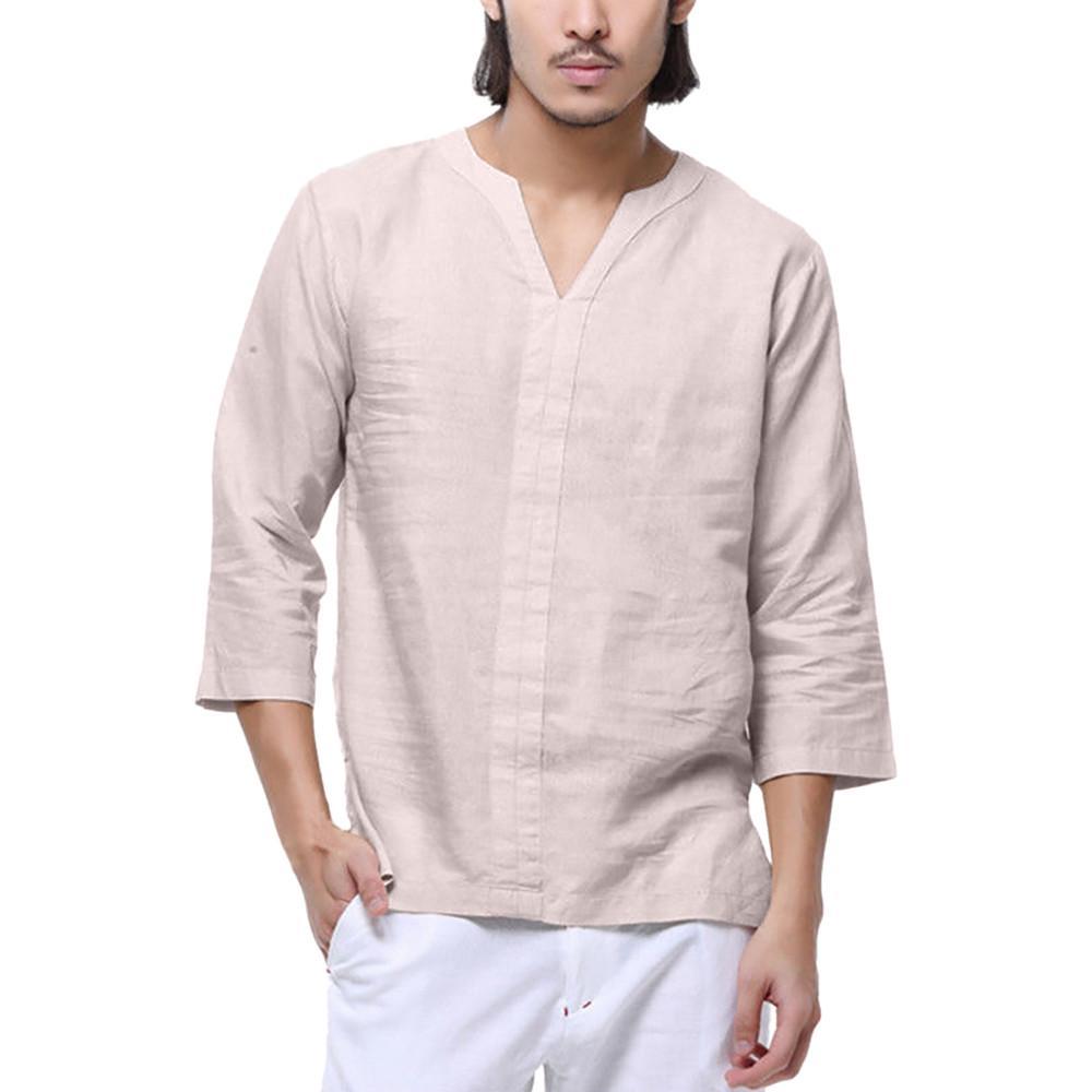 Compre Mens Camisas Azuis Marca De Moda Homens De Luxo Camisa De Vestido De Manga Longa De Algodão Ocasional Camisa Social Slim Fit Masculina De