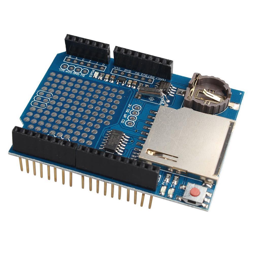 5PCS Data Logger Module Logging Data Recorder Shield for Arduino UNO SD Card