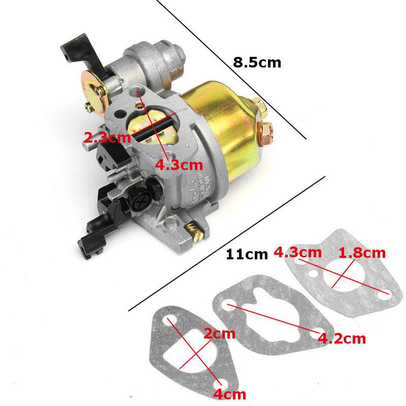 Kit For Honda GX160 GX200 Recoil Carburetor Ignition Coil Spark Plug Air Filter