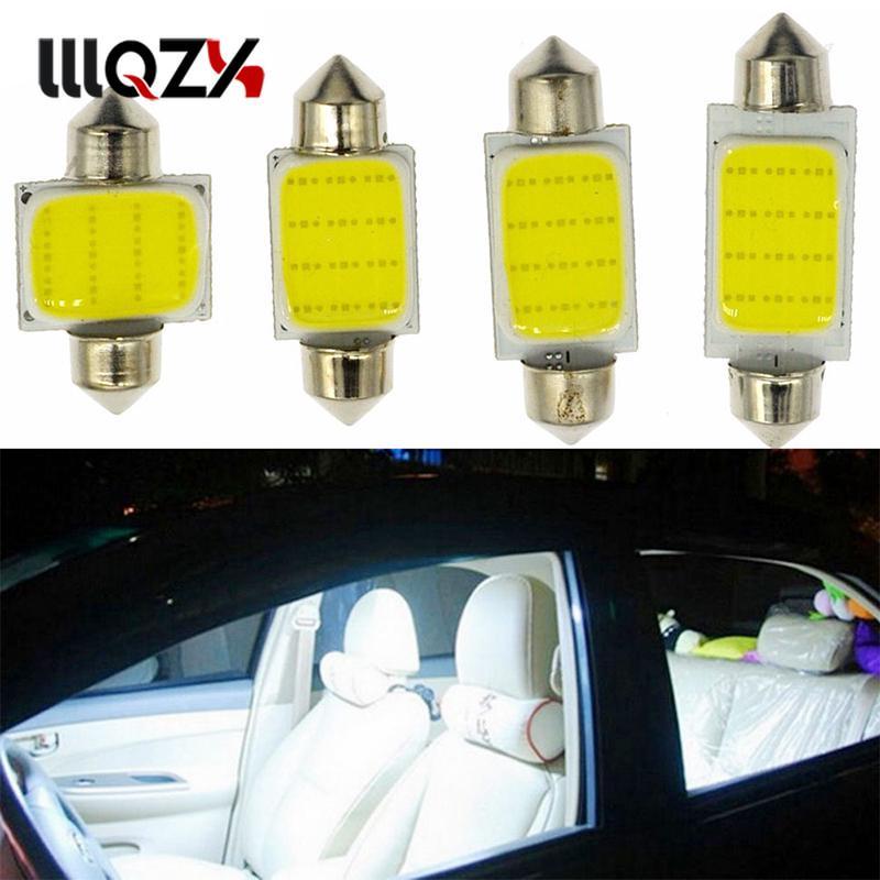 2pcs 42mm C5W C10W Canbus Aucune Erreur Festoon 8 Led 5050 SMD Plaque Dimmatriculation De La Voiture Auto Logement Int/érieur D/ôme Lampe de Lecture