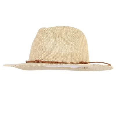 ab382f173 Vintage Hollow Out Wide Brim Straw Hat Outdoor Breathable Jazz Hat ...