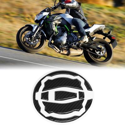 Carbon Fiber Motorcycle Gas Tank Cap Pad Cover Sticker