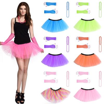 Baby Girls Cute Net Yarn Floral Tutu Dress Party Prom Dancing Casual Mini Skirts