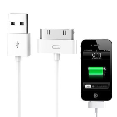 addf9ed6376 Caliente USB cargador Cable datos Sync cable para iPad 3 2 iPhone 4 4S 3G  iPod