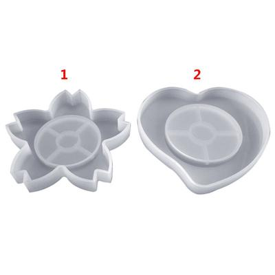 Silicone Wolf Shape Mould DIY Resin Clay Home Ornament Jewelry Making Mold