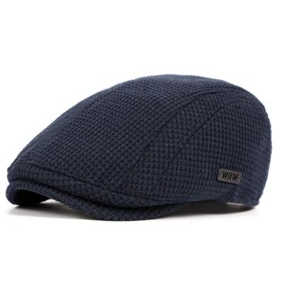 Brand England Wool Beret Hat Flat Men Women Knitted Boina Snapback Cap Classic Vintage Spring